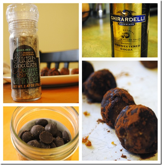 Chocolate Vegan Peanut Butter Balls