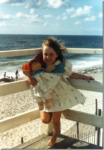 me and beach