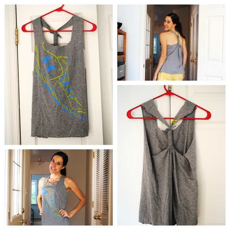 As seen on pinterest diy workout shirt the adventures for Design your own workout shirt