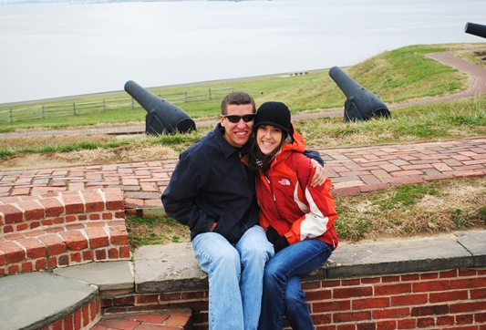 Fort McHenry K and Z cannons