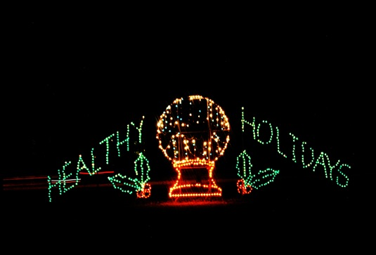 Symphony of Lights, Columbia, MD Healthy Holidays