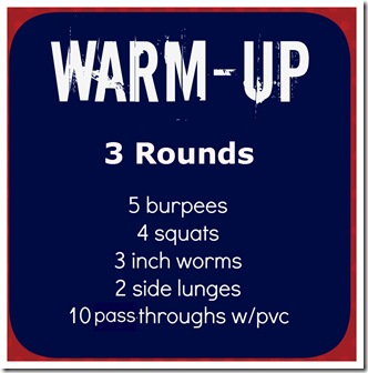 crossfit warm up 1-4-13
