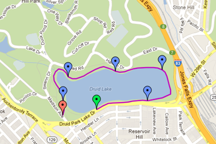 Druid Hill Park Lake Run