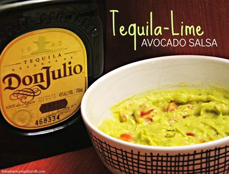 tequila lime avocado salsa