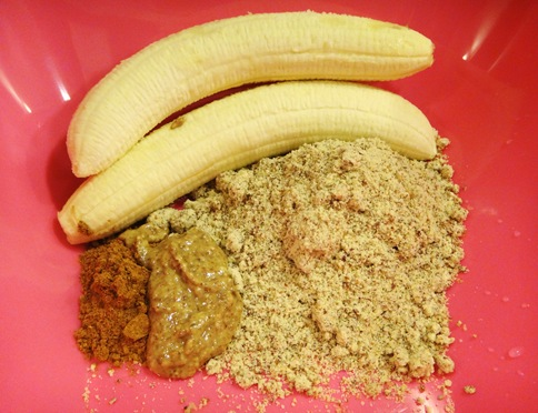 Paleo Almond Muffin Ingredients