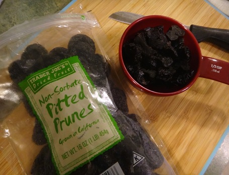 Trader joe's non sorbate pitted prunes