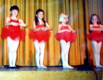 K kindergarten dance class