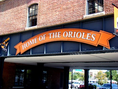 home of the orioles baltimore maryland