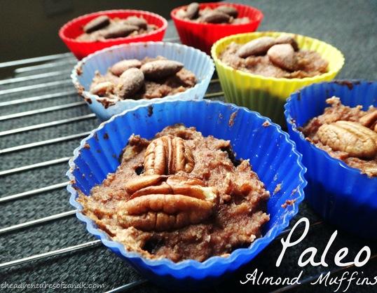 Paleo almond muffins