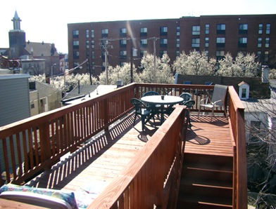 Fells Point Maryland Roofdeck