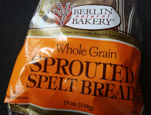 Berlin Bakery Sprouted Spelt Bread- Low FODMAP approved food