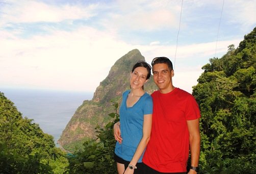 K and Z St. Lucia Piton Hike
