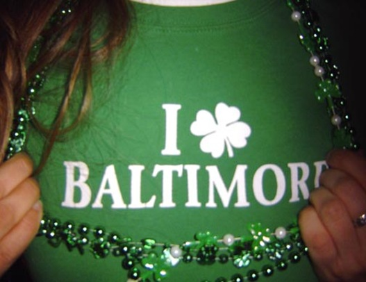 I love baltimore st patricks day shirt