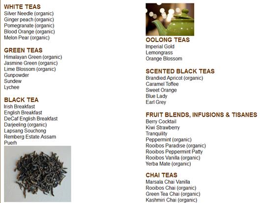 Teavolved Loof Leaf Teas
