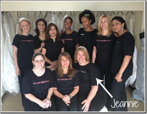 The Bridal Boutique Consultants Jeannie