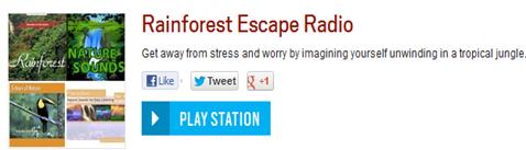 Rainforest Escape Radio from iHeartRadio