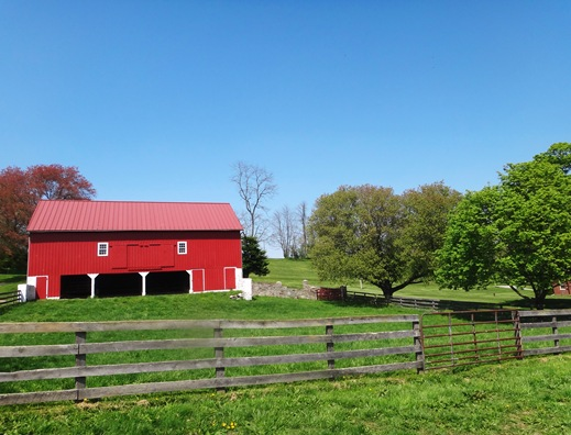Barn at MD Horse Farm
