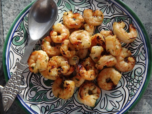 Honey Lime Cilantro Grilled Shrimp   The Adventures of Z & K