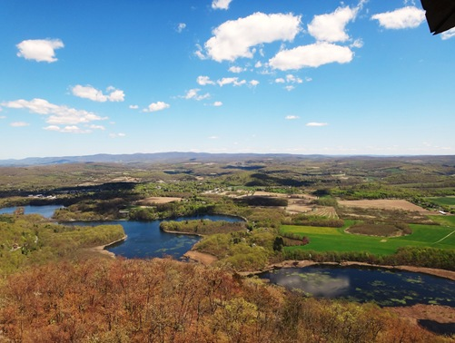 View from Stissing Mountain Fire Tower