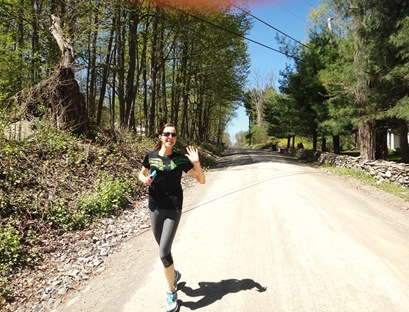 K run in Salt Point, NY