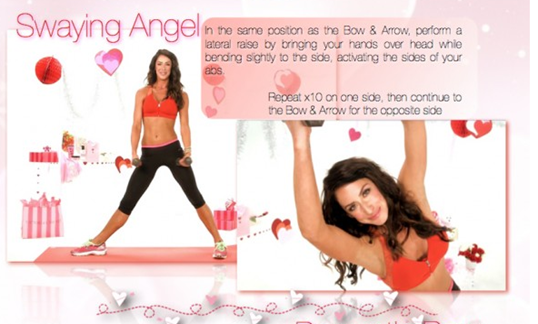 Tone It Up Love Your Arms Workout Swaying Angel