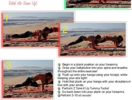 Tone It Up Itty Bitty Bikini Ab Workout