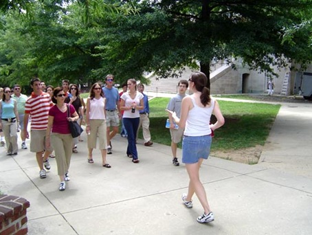 K UMD Campus Walking Tour with MD Images