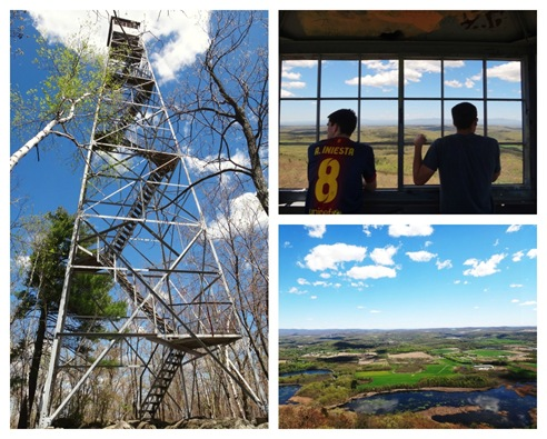 Stissing Mountain fire tower