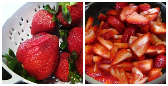 Strawberry Salsa ingredients fresh strawberries