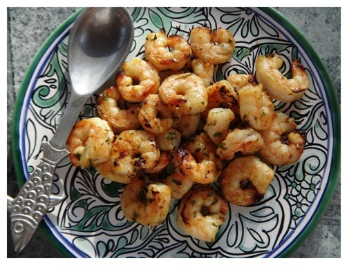 What's For Dinner- Cilantro Lime Shrimp