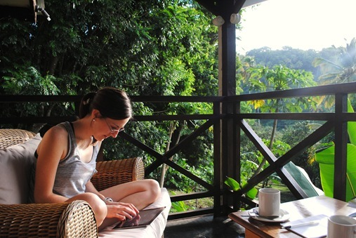 K blogging in St. Lucia