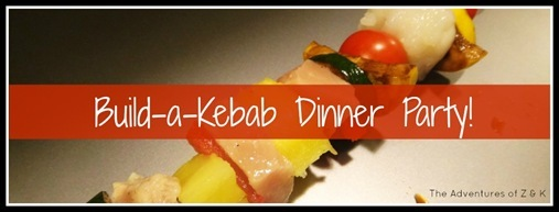 build a kebab dinner party