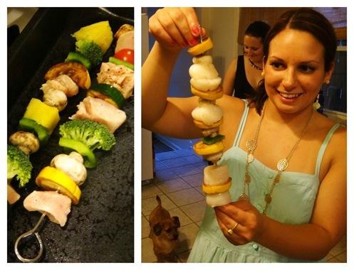 Jenna and kebabs