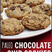 My New Obsession: Paleo Chocolate Chip Cookies