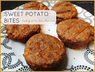 Sweet Potato Bites from The Lean Green Bean recipe and steps