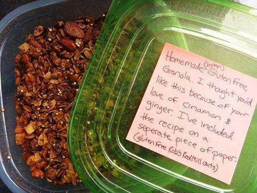Homemade Chai Spcied Granola