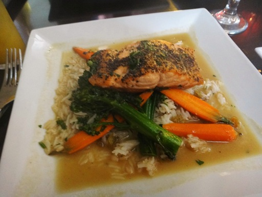 Green Tea Salmon from The Point in Fells