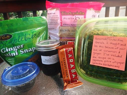 July Foodie Pen Pals Package