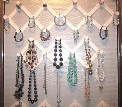DIY Dollar Store Jewelry Organization from Adorable Antics