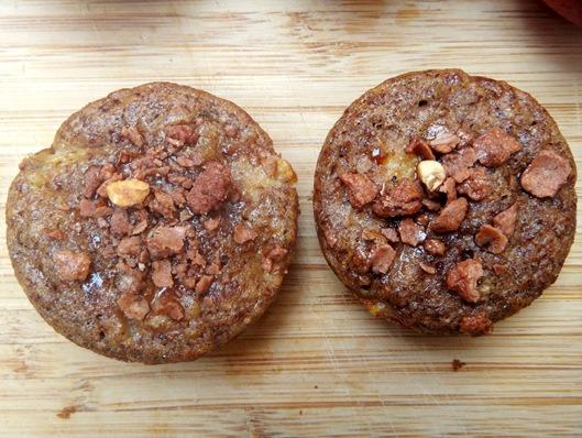 Peach Cobler Muffins finished