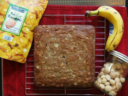Tropical Banana Bread Ingredients