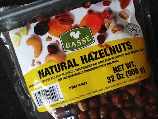 Basse Natural Hazelnuts from Costco