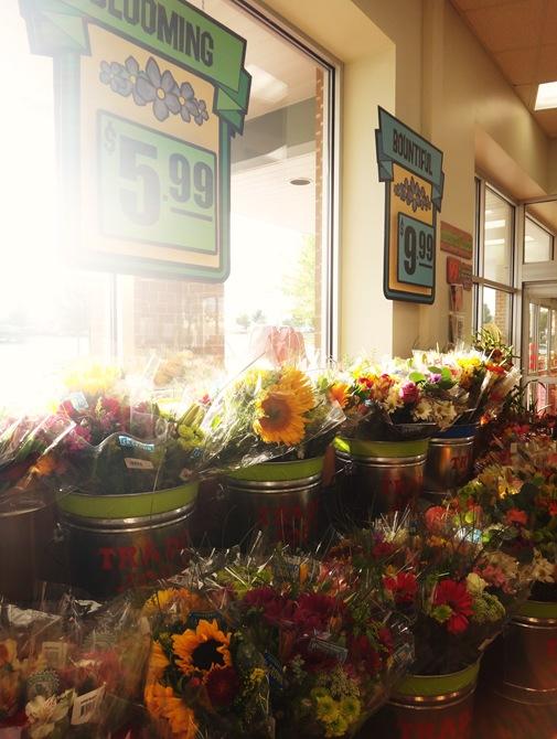 Trader Joe's fresh cut flower selection