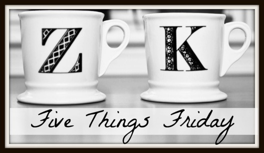 The Adventures of Z and K Five Things Friday