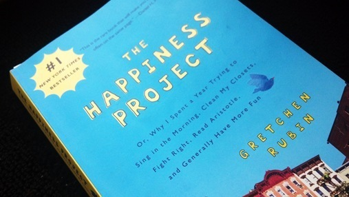 The Happiness Project by Gretchen Rubin front cover