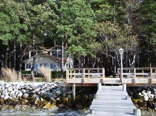 House on Deal Island Maryland