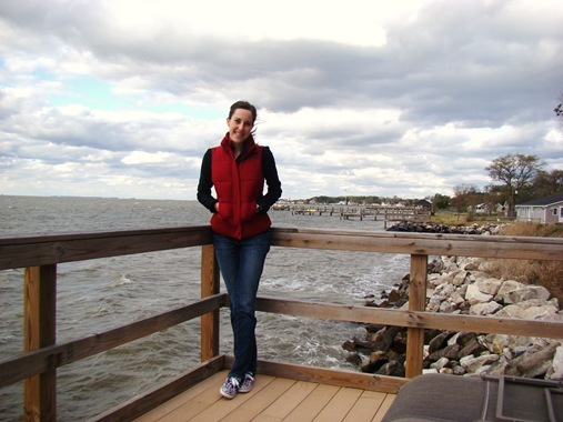 K on pier at Deal Island Maryland