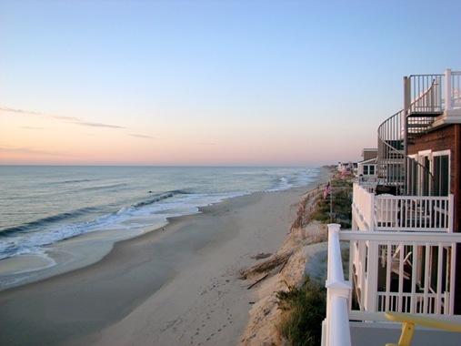 Beach front long Beach Island New Jersey