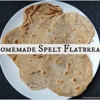[Recipe] Homemade Spelt Flatbread