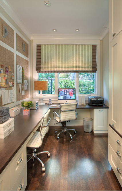 Natural light office via Houzz